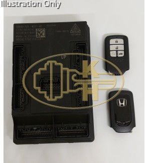 ORIGINAL HONDA SMART KEY ECU REPLACEMENT
