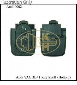AUDI 3B+1B REMOTE BOTTOM PART