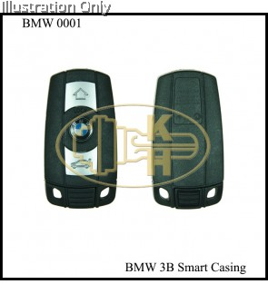 BMW 3B CAS SMART KEYSHELL