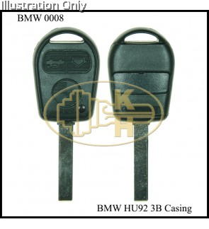 BMW 3B OLD REMOTE HU92 KEYSHELL