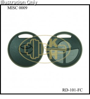 ROUND COBRA META REMOTE / CASING