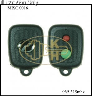 OEM OS-069 MYVI STYLE DIRECT/LEARNING CODE REMOTE