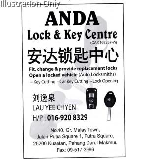 Anda Lock and Key Centre