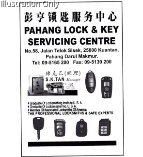 Pahang Lock and Key Servicing Centre