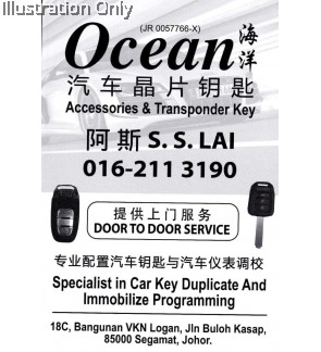 Ocean Accessorries & Transponder Key