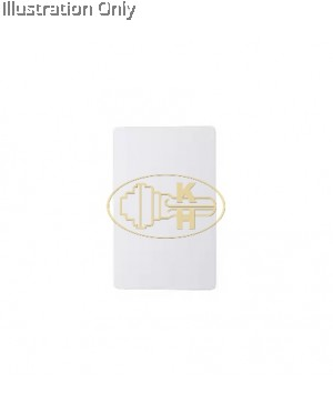 High Frequency IC Card White