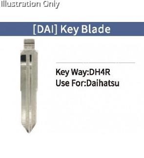 Dhs4 flip key blank