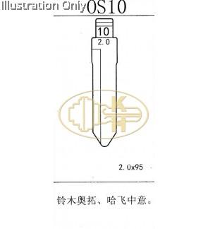 os10 suzuki flip key blank