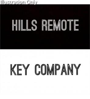 Hills Remote Key Company