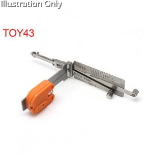TOY43 8-CUT Toyota 2-IN-1 PICK AND DECODER- DOOR/TRUNK
