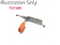 TOY38R Toyota 2-IN-1 PICK AND DECODER- DOOR/TRUNK