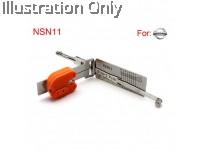 NSN11 NISSAN 2-IN-1 PICK AND DECODER- DOOR/TRUNK
