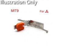 MIT9 MITSUBISHI 2-IN-1 PICK AND DECODER- DOOR/TRUNK