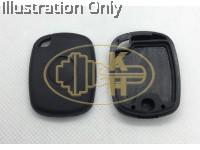 Universal Electronic Transponder Key Shell