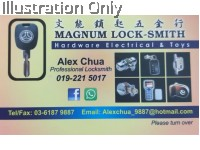 MAGNUM LOCKSMITH HARDWARE ELECTRICAL AND TOYS