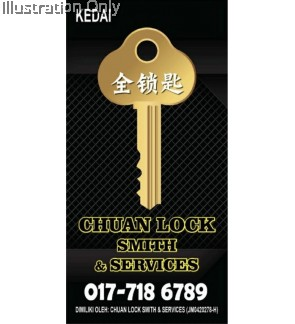 CHUAN LOCKSMITH AND SERVICE