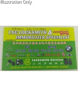 TNG LOCKSMITH AND IMMOBILIZER SPECIALIST