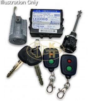 Perodua Myvi Alza DH ecu lockset