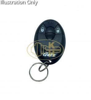 original hyundai getz oval remote