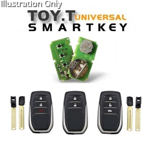 Xhorse XM Smart Key TOY T XSTO00EN for Toyota Support Re-generate