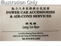 POWER CAR ACCESSORIES & AIR CON SERVICES