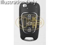 XHORSE xkhy02en remote key