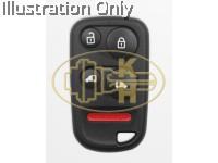 XHORSE xkho04en remote key