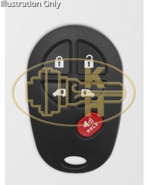 XHORSE xkto08en remote key