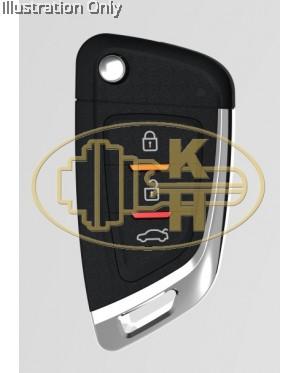 XHORSE xkkf02en remote key