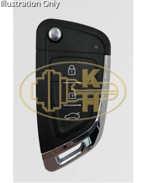 XHORSE xkkf03en remote key
