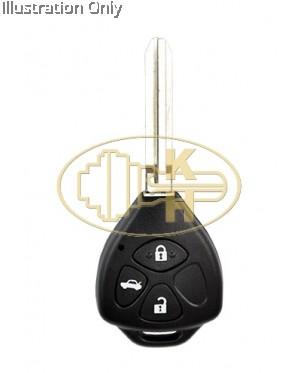 XHORSE xkto04en remote key