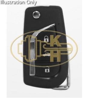 XHORSE xnto00en 46/47 chip in circuit remote key